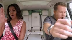 Michelle Obama And James Corden Jam Out On Carpool