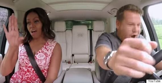 Michelle Obama, James Corden And Missy Elliott Jam Out Hardcore On Carpool