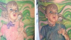 Mom's Tattoo Transformed To Better Reflect Transgender