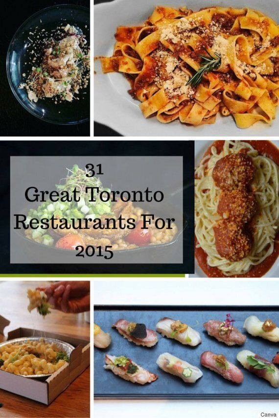 The Best New Restaurants In Toronto For