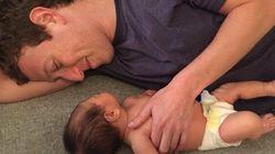 Mark Zuckerberg Shares Sweet Snap With Baby