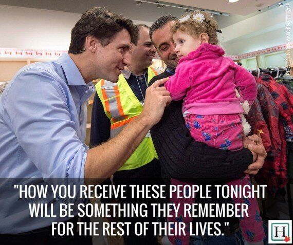 Syrian Refugees Arrive In Canada On First Government