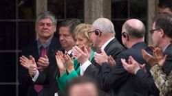MPs Cheer As Mauril Belanger Named Honorary House