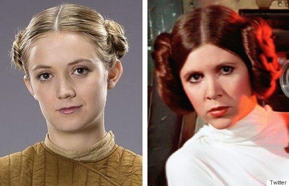 Carrie Fisher Daughter: Billie Lourd Is Following In Mom's Star Wars'