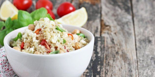 quinoa salad with