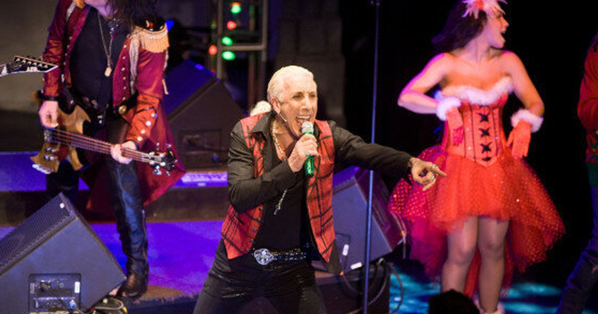 Twisted Sister Christmas.Twisted Sister S Dee Snider Talks Christmas Celine Dion