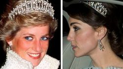 Kate Middleton Steps Out Wearing Princess Diana's