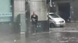 WATCH: Everyday Hero Rescues Cat From