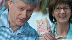 Harper Spent $554K Of Public Money On Pre-Election