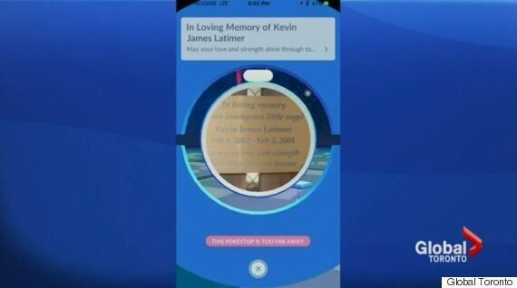 PokeStop Removed From Toddler's Ontario