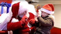 Santa Uses Sign Language To Hear Girl's Christmas