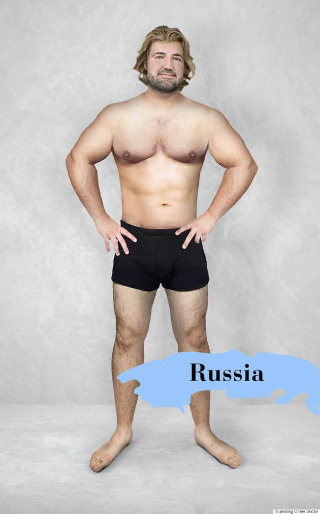 One Man's Body Is Photoshopped By 19 Countries In 'Perceptions Of Perfection'