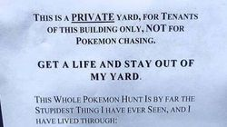 'GET A LIFE,' Vancouver Homeowner Gently Tells Pokemon Go