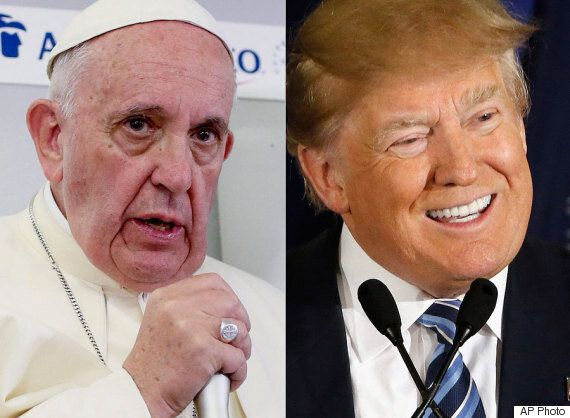 Pope Francis Suggests Trump Isn't Christian Because Of His Planned Border