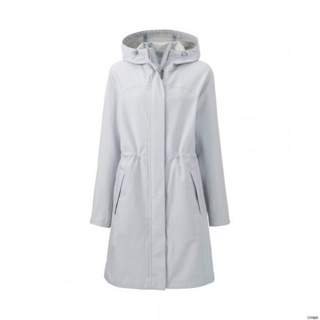 Uniqlo Unveils New Waterproof Raincoat Jacket With Built-In