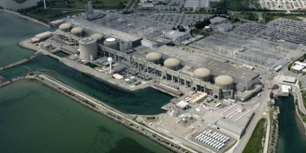 Aerials of the Pickering Nuclear Plants. It will cost Ontarians $46 billion to whip the province's troubled...