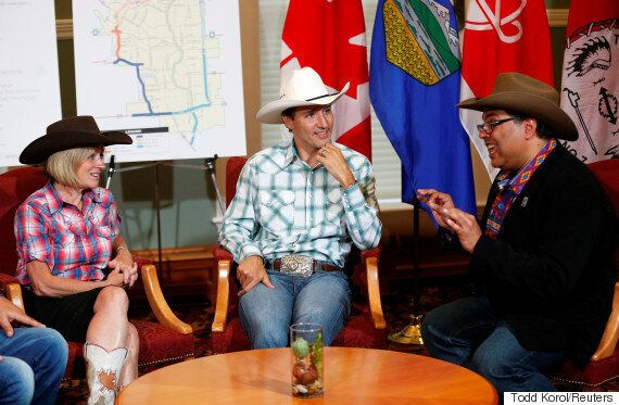 Justin Trudeau Celebrates 'The Friendliest, Happiest Week In All Of