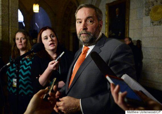 What's His Number? NDP Leader Thomas Mulcair Won't