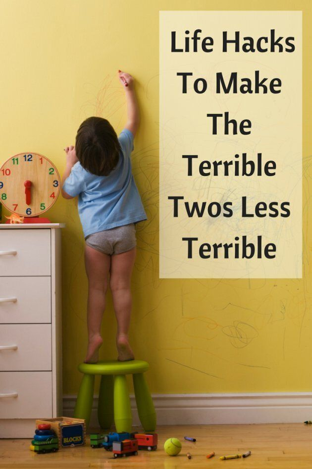 Best Life Hacks To Make The Terrible Twos Less