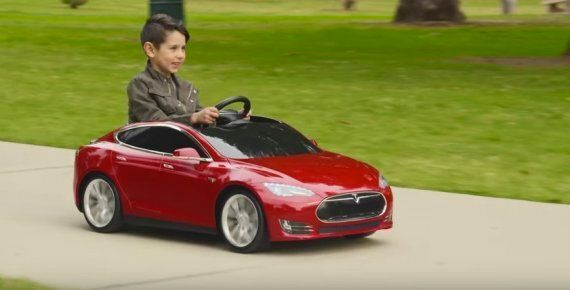 Tesla Introduces Model S Toy Car For (Really) Rich