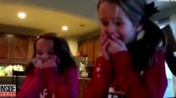 Sisters Lose It After Finding Adopted Baby Brother Under The Christmas