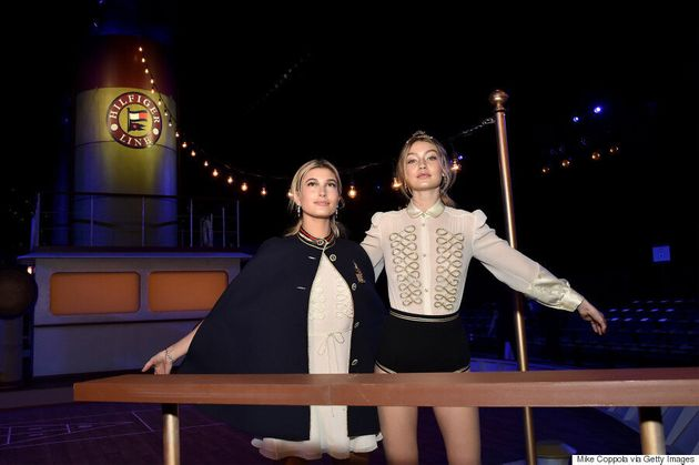 Gigi Hadid Leads The Pack At Tommy Hilfiger's Fall 2016 Runway
