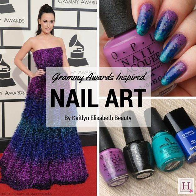 Ombré Nail Art Inspired By Kacey Musgraves' Grammy Awards