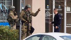 RCMP Standoff At Surrey Bank Ends In