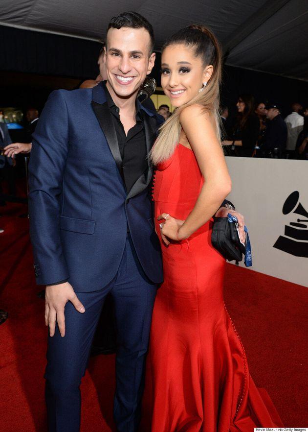 Ariana Grande Grammys 2016: Pop Beauty Stuns In Red Hot Romona Keveža
