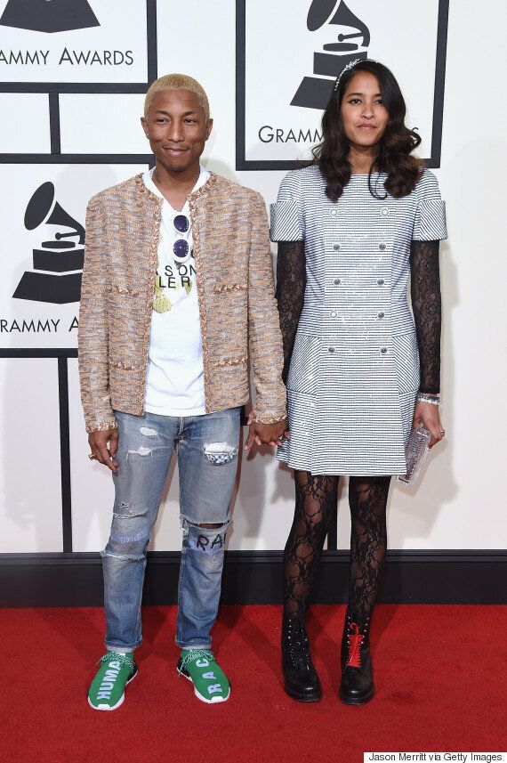 Pharrell Williams Grammys 2016: Pop Powerhouse Goes Blond For Music's Biggest