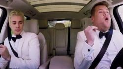 Justin Bieber And James Corden Karaoke Their Way To The