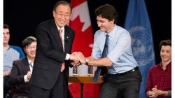 Ban Ki-Moon's Flattery Of Trudeau Was Play For Money: