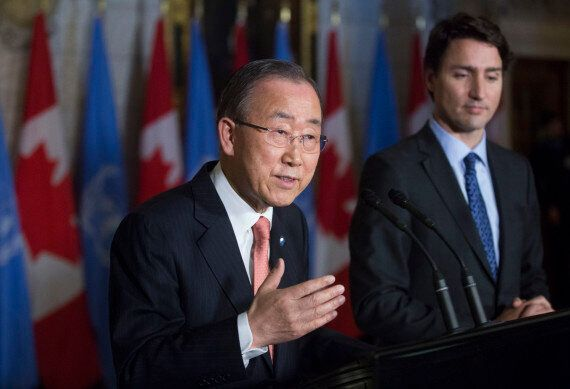 Ban Ki-Moon's Flattery Of Trudeau Was Attempt To Get More UN Funding: