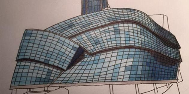 Justin Trudeau Sketch Of Winnipeg Museum Auctioned Off On eBay For