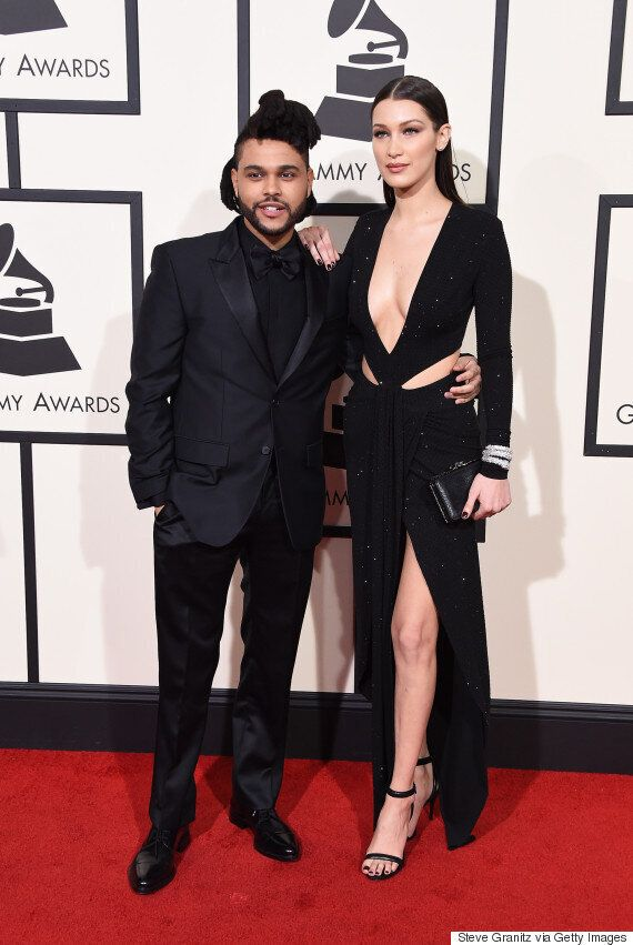 The Weeknd And Bella Hadid Are The Best-Dressed 2016 Grammys