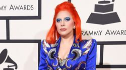 Lady Gaga's Bowie-Inspired Look Is Out Of This