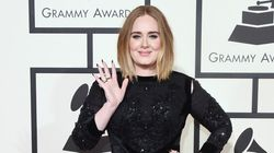 Adele Sparkles And Shines In Sequined Givenchy At The