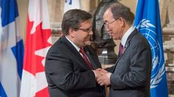 Ban Ki-Moon Praises Montreal's Anti-Radicalization