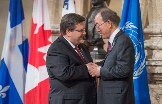 UN Secretary General Ban Ki-Moon Praises Montreal's Anti-Radicalization