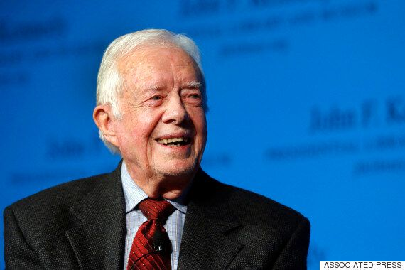 Jimmy Carter Says Brain Cancer Is Gone, Will Continue