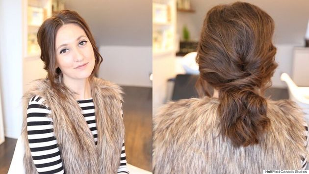 Valentine's Day DIY Hairstyle: How To Get A Romantic