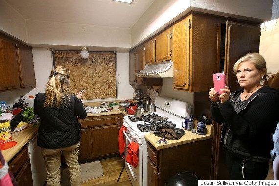 California Shooting: Media Swarm Of Couple's Apartment Recalls B.C.
