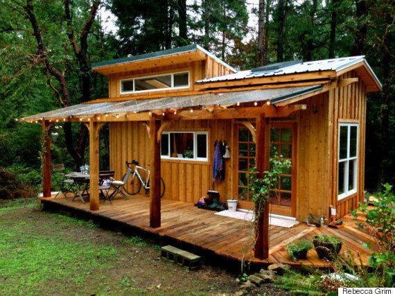 This Enchanting Tiny House On Salt Spring Island Can Be Quite The Party