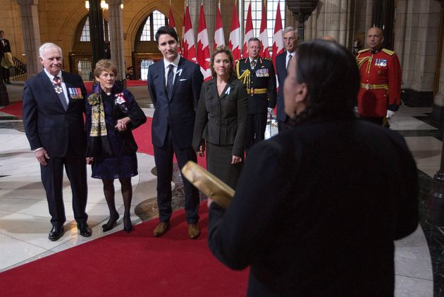 Throne Speech 2015: Liberals Herald Hopes Of New Era With Indigenous