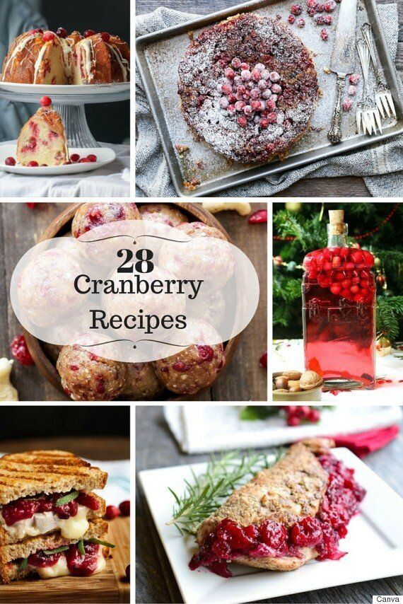 28 Cranberry Recipes You'll Want To Make Over The