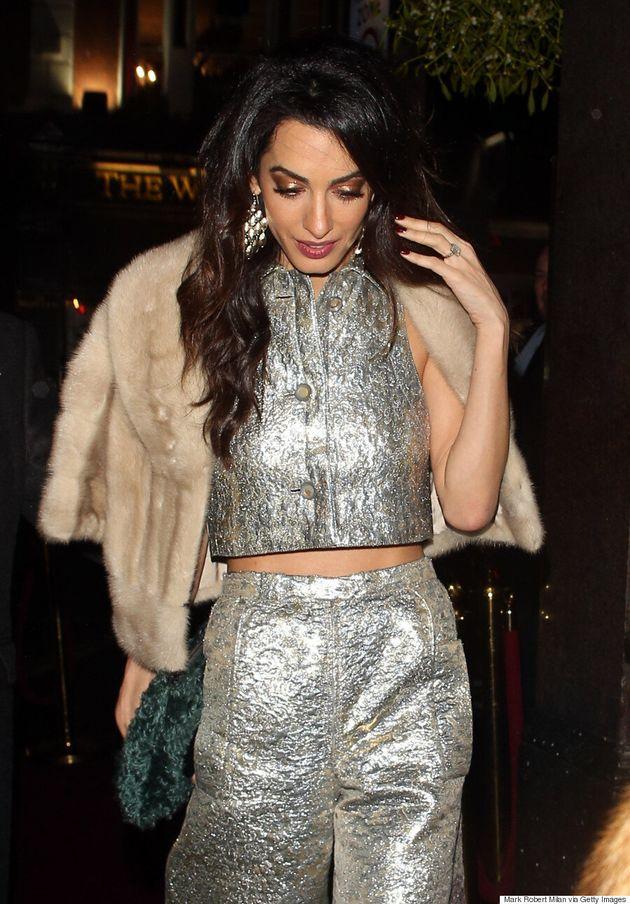 Amal Clooney's Vintage Lanvin Number Tops Our Best Dressed List This