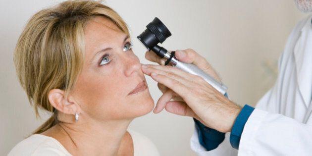 Doctor Examining a