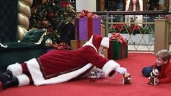 Mall Santa Goes Above And Beyond For Boy With