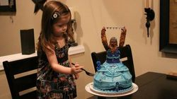 This Three Year Old's Chewbacca Princess Birthday Cake Is Simply