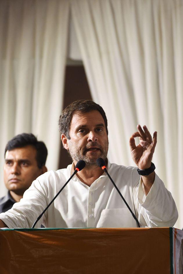 Congress president Rahul